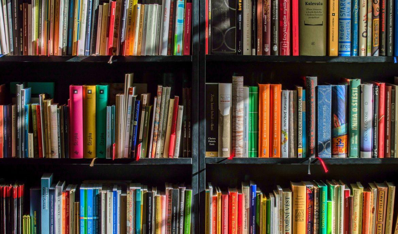 boekenkast vol boeken