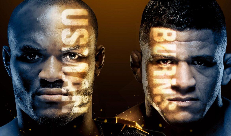 UFC 258 Main Event - Usman vs. Burns